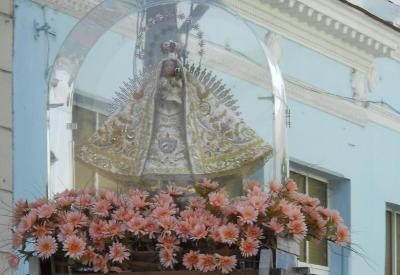 La Virgen de la Caridad en Santa Clara I